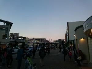入間航空祭からの帰りは狭山市駅へ