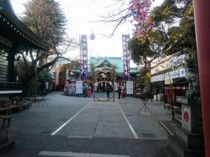 君の名は 聖地 東京 須賀神社 四谷
