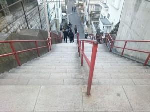 須賀神社 階段
