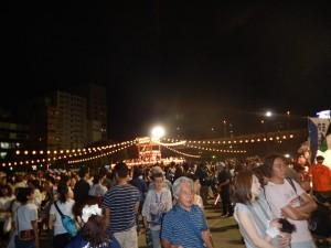 浜町公園 盆踊り大会