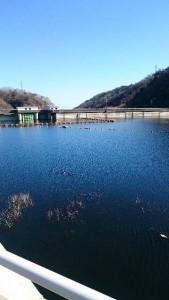 花貫渓谷のダム